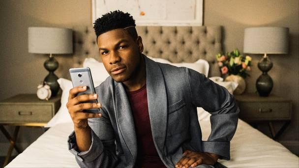 John Boyega is growing his hair out for Star Wars: Episode 9 (Vodafone Foundation)