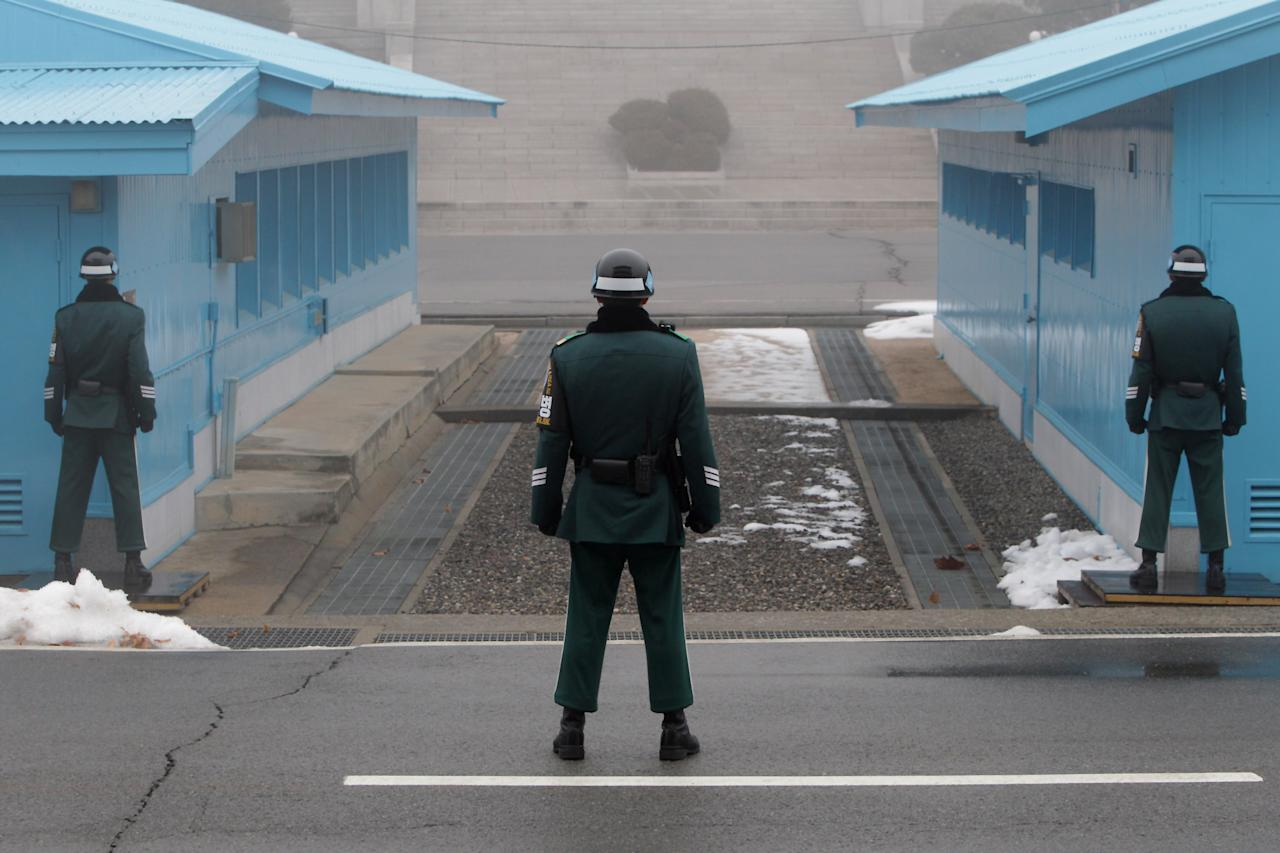 Tension Rises At Panmunjom After North Korea's Nuclear Test