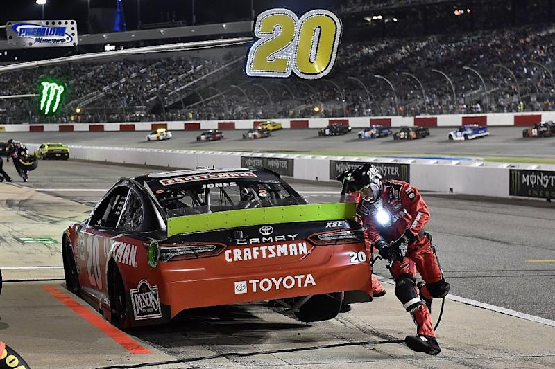 Jones becomes first NASCAR Cup disqualification