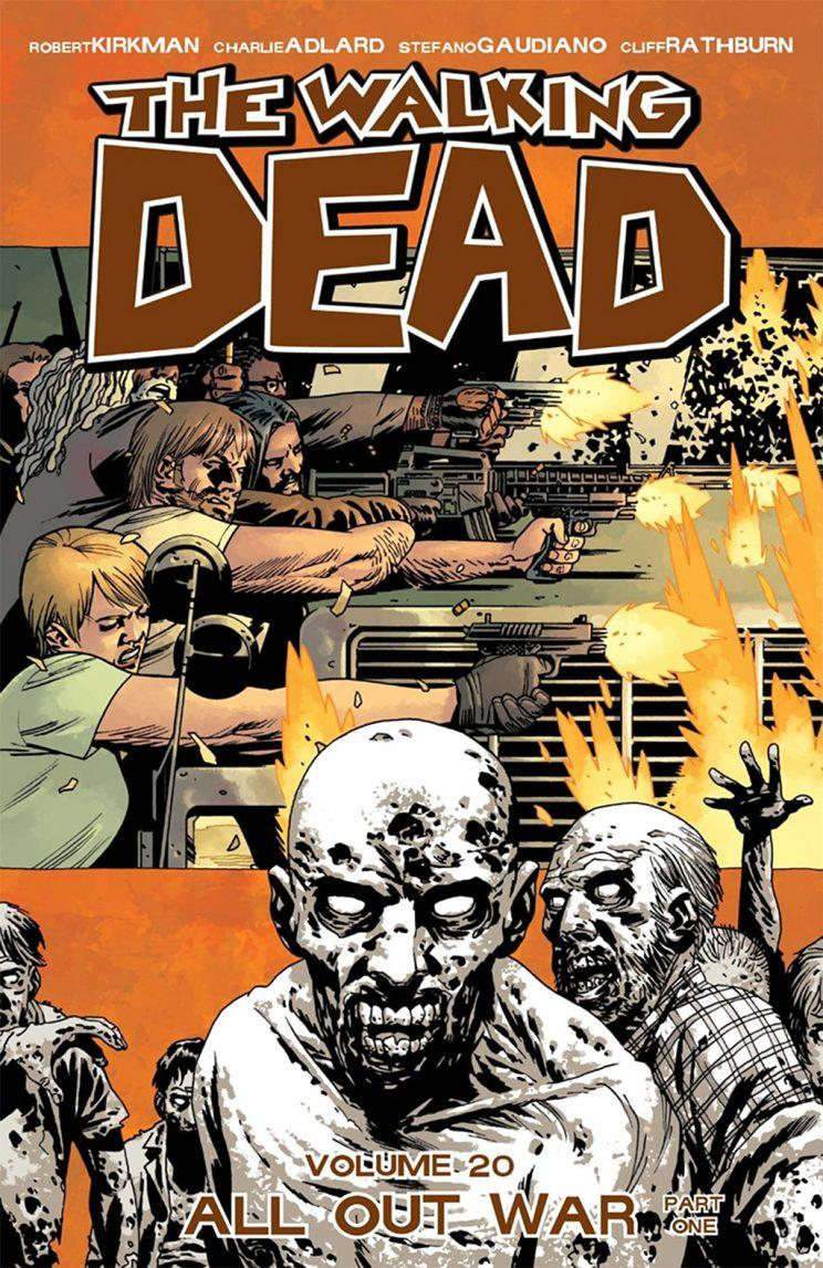The Walking Dead Volume 20: All Out War Part One. (Credit: Image Comics)