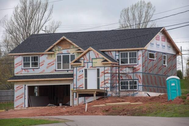 The value of single residential home building permits is double what it was two years ago. (Brian McInnis/The Canadian Press - image credit)