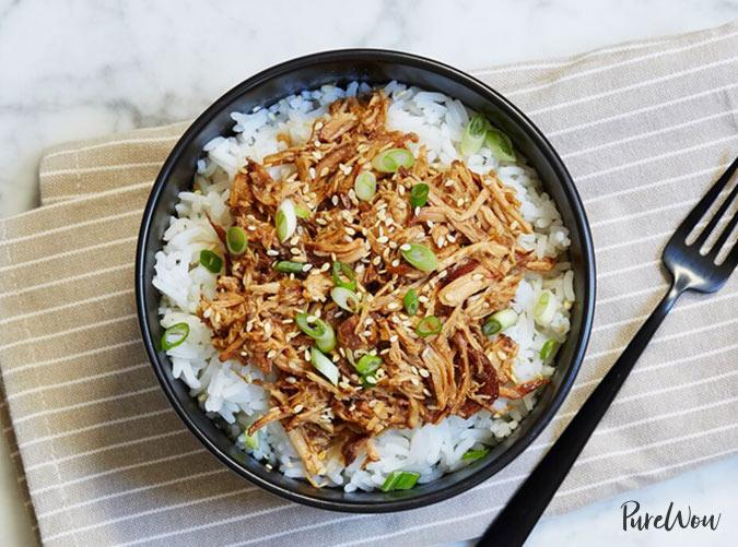 """<p>Let your Crock-Pot do the work for you.</p> <p><a class=""""cta-button-link"""" href=""""https://www.purewow.com/recipes/slow-cooker-chicken-teriyaki"""" target=""""_blank"""">Get the recipe</a></p>"""