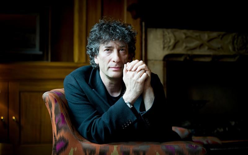 Neil Gaiman wrote two episodes of the BBC show - Geoff Pugh