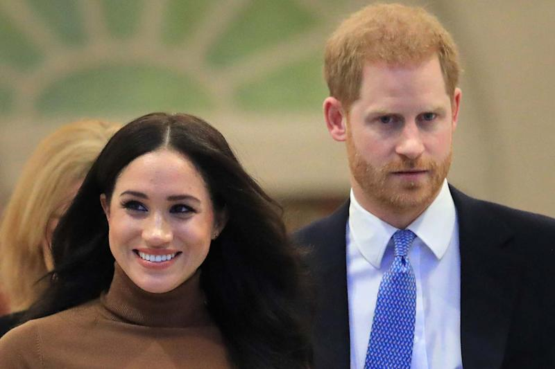 The Duke and Duchess of Sussex are to no longer use their HRH titles: PA