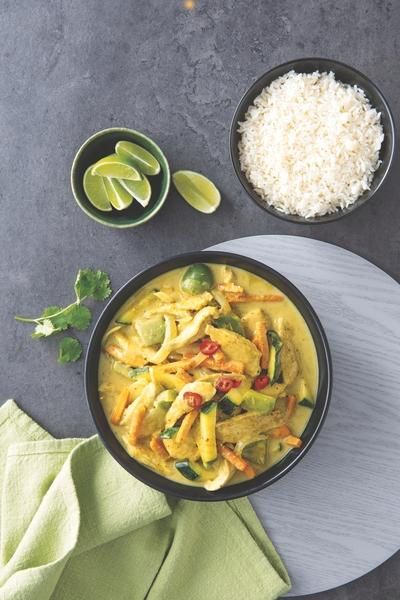 Aldi Green Thai Curry meal kit