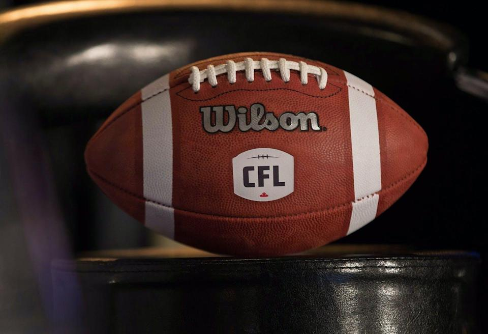 """<span class=""""caption"""">The future of the Canadian Football League is in doubt as it resumes play for the first time since 2019.</span> <span class=""""attribution""""><span class=""""source"""">THE CANADIAN PRESS/John Woods </span></span>"""