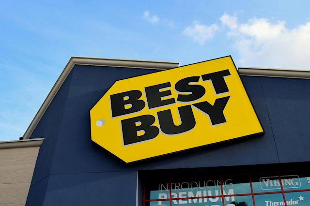 Best Buy earnings will be among the market highlights for investors on Thursday. REUTERS/Mohammad Khursheed