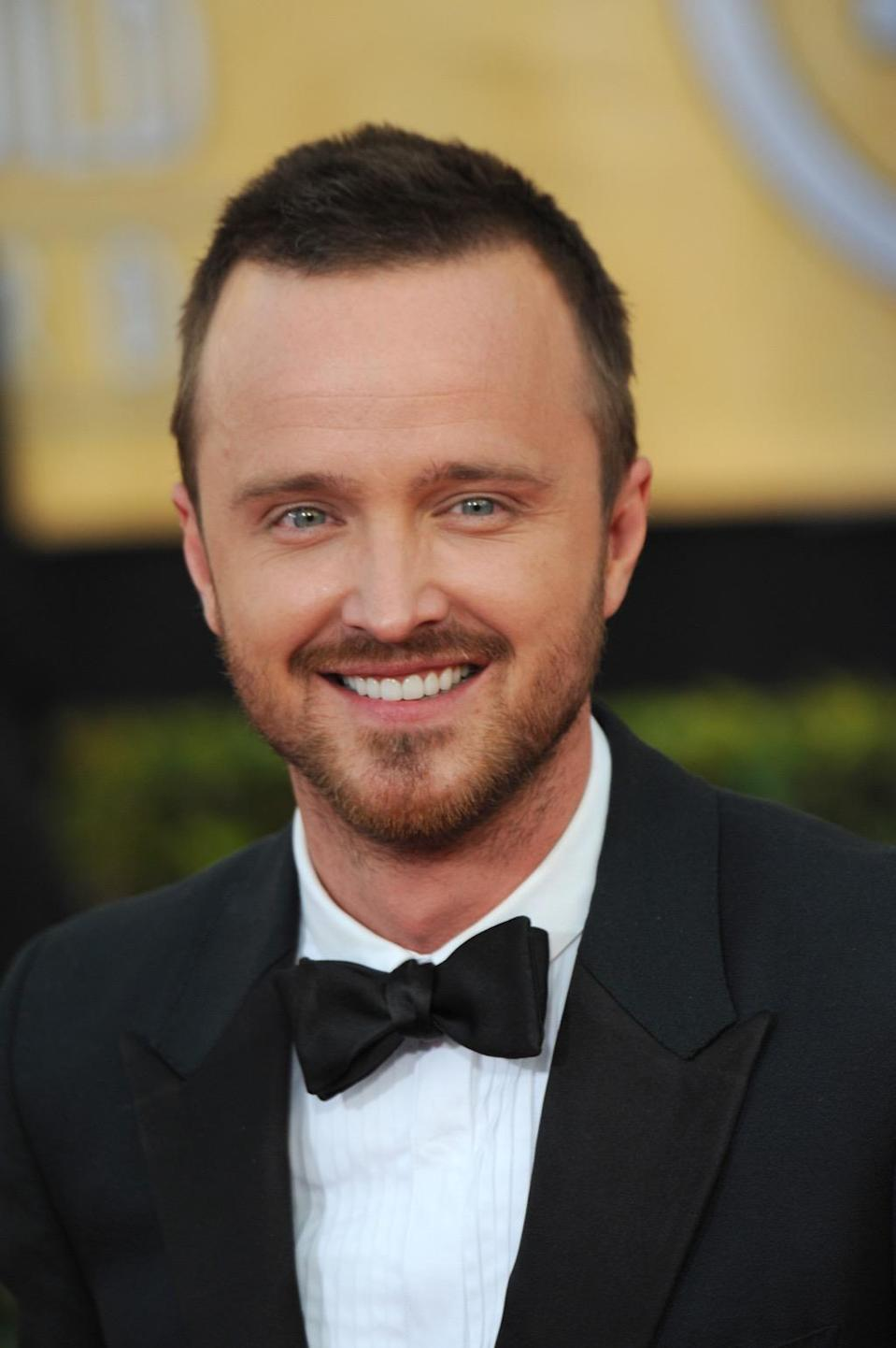 "<strong>Aaron Paul</strong>, who's known for playing Jesse Pinkman on <em>Breaking Bad</em>, was raised in Emmett, Idaho. In his hometown, Paul discovered his love of acting by <a href=""https://www.theguardian.com/global/2019/oct/06/aaron-paul-breaking-bad-changed-my-life-tv-interview-film-netflix"" rel=""nofollow noopener"" target=""_blank"" data-ylk=""slk:performing in church plays"" class=""link rapid-noclick-resp"">performing in church plays</a>. After graduating from <a href=""https://www.ktvb.com/article/features/idaho-raised-star-aaron-paul-makes-rounds-across-boise/53427617"" rel=""nofollow noopener"" target=""_blank"" data-ylk=""slk:Centennial High School"" class=""link rapid-noclick-resp"">Centennial High School</a> in Boise, he and his mother moved to Los Angeles to chase his dreams. But Paul still has tons of love for his home state, which he uses to get away from Hollywood. ""I love that Idaho is this sort of kept secret,"" he told <a href=""https://www.mensjournal.com/entertainment/aaron-paul-s-private-idaho-20160311/"" rel=""nofollow noopener"" target=""_blank"" data-ylk=""slk:Men's Journal"" class=""link rapid-noclick-resp""><em>Men's Journal</em></a>. ""Everyone visualizes Idaho as this dirt field filled with potatoes … but that's not accurate at all. It's just nothing but mountains and rivers and lakes."""