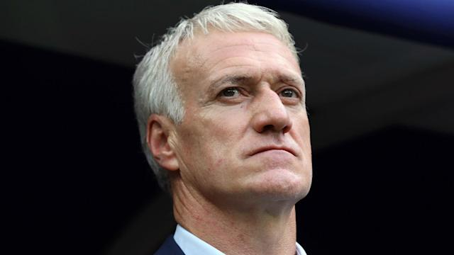 Sunday's 2-0 win over Albania saw France give Didier Deschamps reason to celebrate in his 100th game at the helm of Les Bleus.