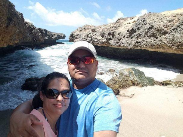 PHOTO: Billy Loredo died Dec. 13 at McAllen Medical Center in McAllen, Texas. Shortly before his death, the 45-year-old emailed a letter to his wife of 21 years, Sonya Kypuros. (Pedro Loredo/Sonya Kypuros)