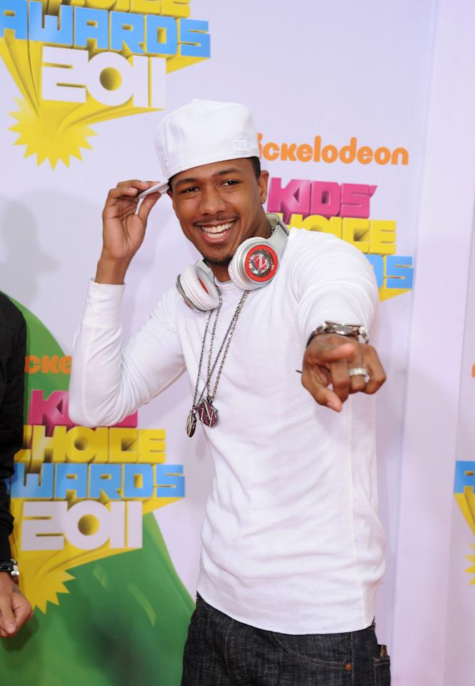 LOS ANGELES, CA - APRIL 02:  TV personality Nick Cannon arrives at Nickelodeon's 24th Annual Kids' Choice Awards at Galen Center on April 2, 2011 in Los Angeles, California.  (Photo by Jason Merritt/Getty Images)