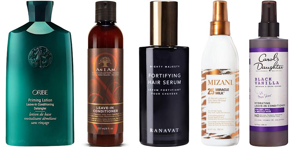"<p>Co-washing, conditioning, or deep conditioning hair during a shower is one thing—but you're missing an entire piece of the puzzle if you aren't using <a href=""https://www.harpersbazaar.com/beauty/hair/g5620/best-leave-in-conditioners/"" rel=""nofollow noopener"" target=""_blank"" data-ylk=""slk:leave-in conditioner"" class=""link rapid-noclick-resp"">leave-in conditioner</a> afterwards, too. Sprays, serums, and creamy conditioners help natural hair retain moisture, wave away breakage, and add a bit of ease (and de-tangling) to your styling routine. Ahead, 11 editor-approved leave-in conditioners for curls, coils, and natural hair of any style. </p>"