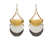<p>As no outfit is complete without the right earrings, we're fairly positive this triple half moon pair will be a big hit. </p>
