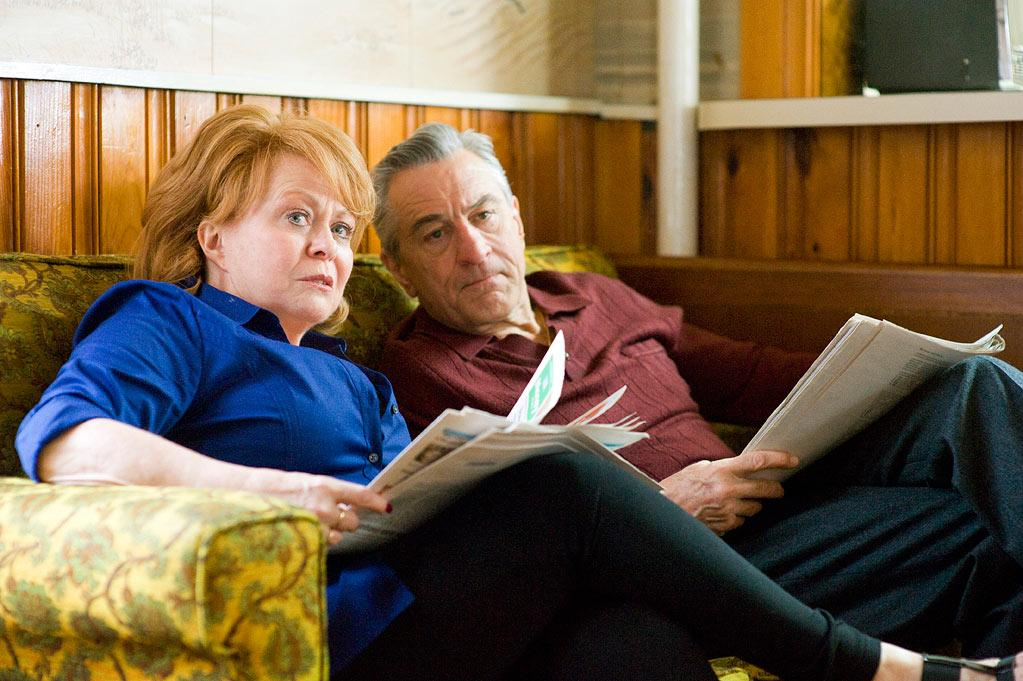 """Jacki Weaver and Robert DeNiro in The Weinstein Company's """"Silver Linings Playbook"""" - 2012"""