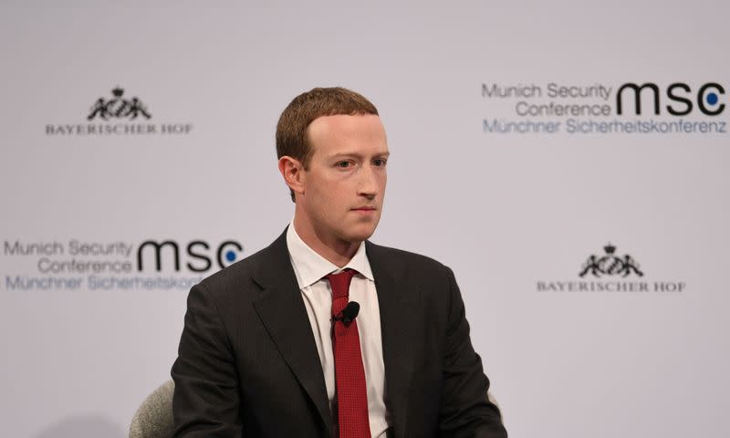 Facebook's Zuckerberg promises a review of content policies after backlash