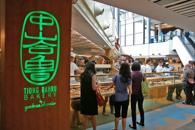 Tiong Bahru Bakery Now At Raffles City