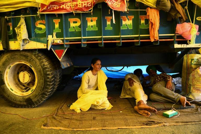 Although India's rural communities are traditionally male-dominated, women have played an active role in the recent farmer protests