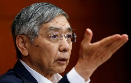 Kuroda says BOJ will debate rising overseas economic risks this week