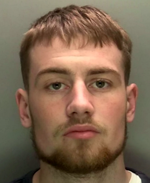 Callum Fellows admitted assault, dangerous driving, criminal damage and driving while disqualified. (SWNS)