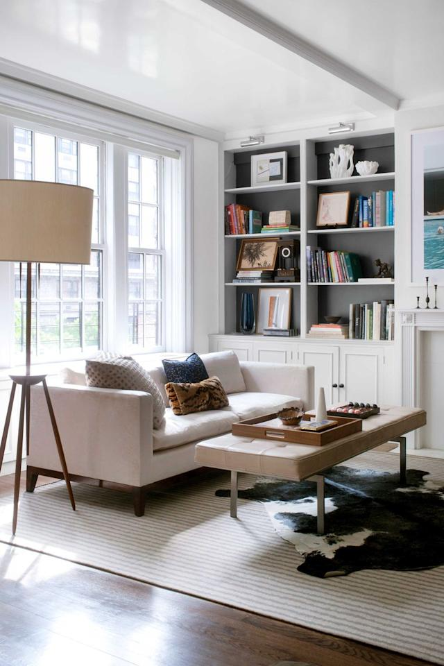 """<p>Since whites often appear yellower with a lacquer finish, says Katie Lydon, steer clear of creamy tones if you're going the high-gloss route. A true neutral white like this one is a safer bet. """"It looks cool on the chip, but actually has a nice glow to it,"""" says Lydon.</p><p><a class=""""body-btn-link"""" href=""""https://www.benjaminmoore.com/en-us/color-overview/find-your-color/color/oc-117/simply-white"""" target=""""_blank"""">BUY NOW</a></p>"""
