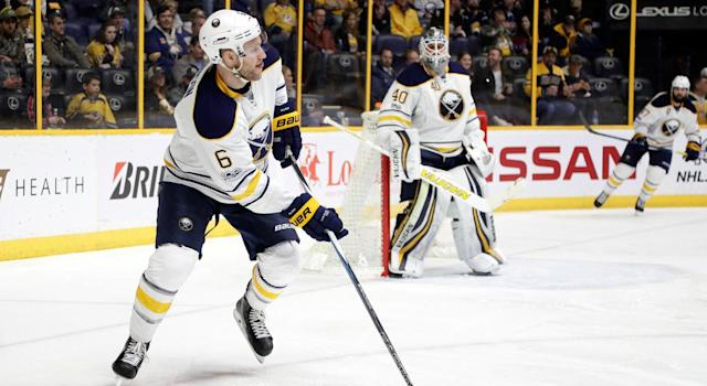 Cody Franson seems to be a pretty strong candidate to stick with the Chicago Blackhawks. (AP Photo/Mark Humphrey)