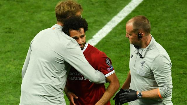 Mohamed Salah reflected on his emotional injury sustained in last month's Champions League final against Real Madrid.
