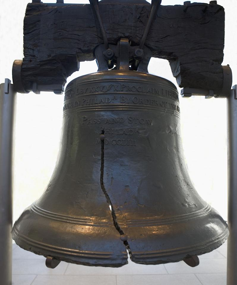 """<p>The Liberty Bell features one of history's most famous repair jobs. After nearly 90 years of use, a narrow split formed in the Liberty Bell around 1840, according to the <a rel=""""nofollow"""" href=""""https://www.nps.gov/inde/learn/historyculture/stories-libertybell.htm"""">National Park Service</a>. When the city of Philadelphia sought to repair the bell in 1846, metal workers actually spread the crack further, using a technique called """"stop drilling"""" to restore the bell's tone. Unfortunately, the repair job only resulted in a second crack, which silenced the bell forever. No one living today has heard the true original sound of the bell. </p>"""
