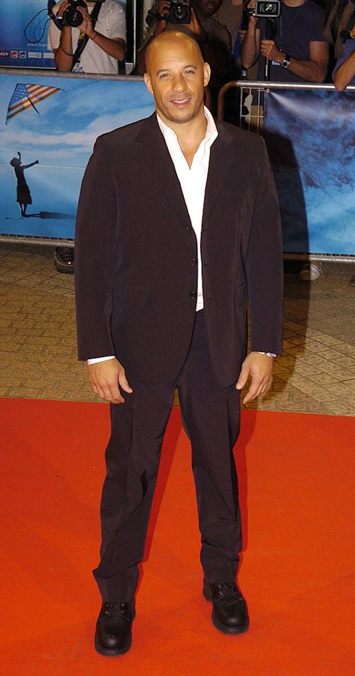 "<a href=""http://movies.yahoo.com/movie/contributor/1800020716"">Vin Diesel</a> at the 56th Annual Berlin Film Festival premiere of <a href=""http://movies.yahoo.com/movie/1808748798/info"">Find Me Guilty</a> - 02/16/2006"