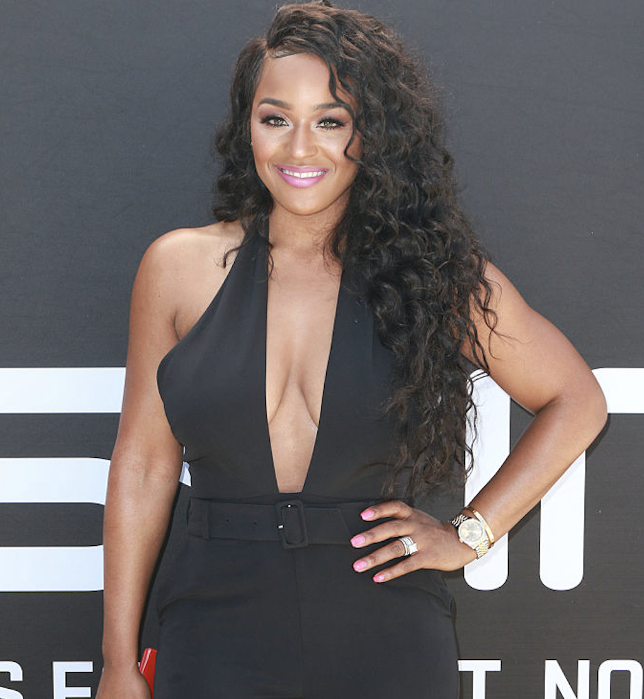 Brandi Maxiell has been diagnosed with COVID-19. (Photo: Tasia Wells/WireImage)