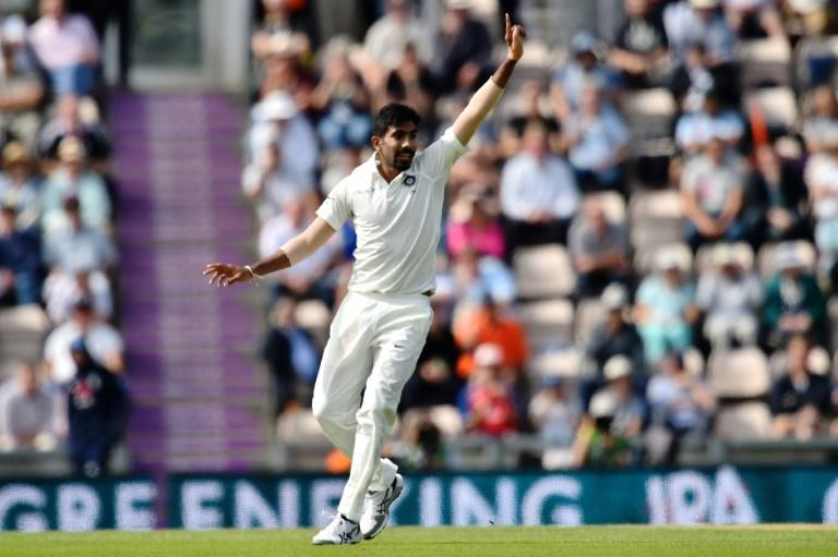 India's Jasprit Bumrah removed England's Jonny Bairstow on Thursday for 6 for his second wicket on the first morning of the fourth Test