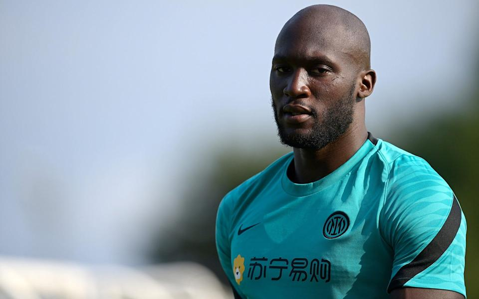 Romelu Lukaku of FC Internazionale looks on during the FC Internazionale - Getty Images