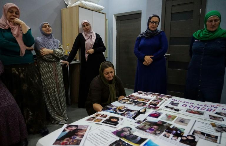 Some women from Russia's majority-Muslim regions in the Caucasus, lost touch with their daughters who left to join the Islamic State jihadist group