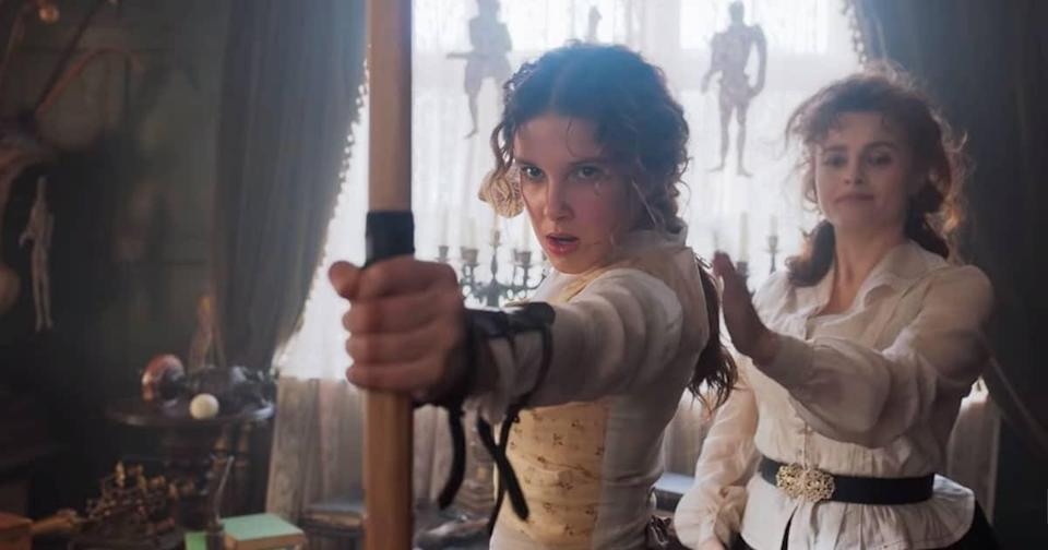 The Trailer For 'Enola Holmes' Is Here And Millie Bobby Brown Is Magnificent