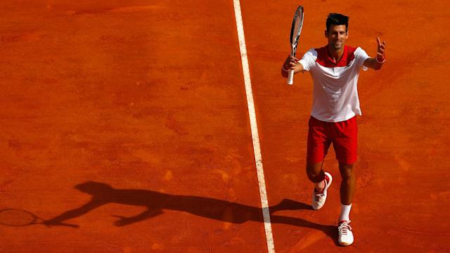 Novak Djokovic took less than an hour to defeat Dusan Lajovic in Monte Carlo on a day which Jared Donaldson will want to forget.