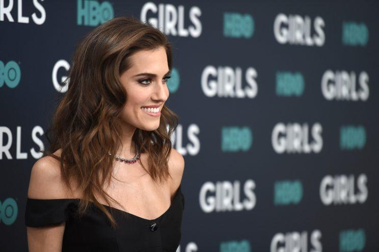 Girls star Allison Williams