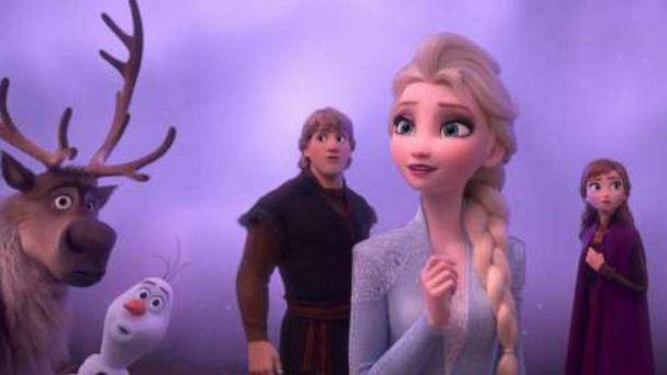 PHOTO: In Walt Disney Animation Studios' 'Frozen 2, Elsa, Anna, Kristoff, Olaf and Sven journey far beyond the gates of Arendelle in search of answers. (Disney)