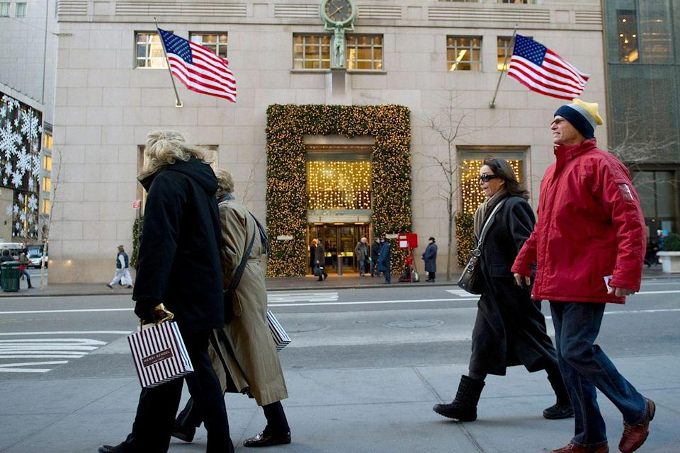 <p>Tiffany on Fifth Ave. celebrates its 78th anniversary, during the peak of the Christmas shopping season. </p>