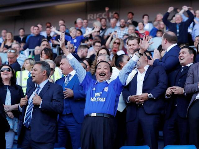 Cardiff City promoted to the Premier League after Fulham fail to beat Birmingham City