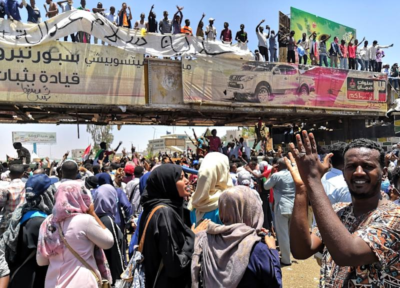 Women have been at the forefront of the protests in Sudan (AFP Photo/-)