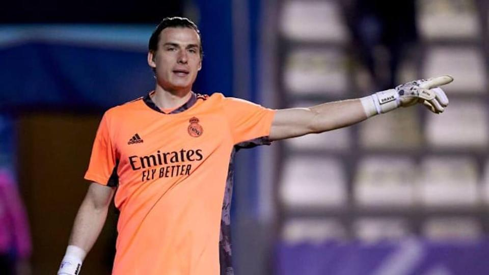 Andriy Lunin, Real Madrid | Quality Sport Images/Getty Images