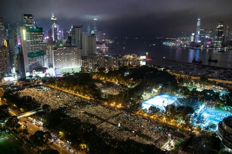 Beijing has made clear it will no longer tolerate Tiananmen remembrance in Hong Kong or Macau (AFP/Philip FONG)