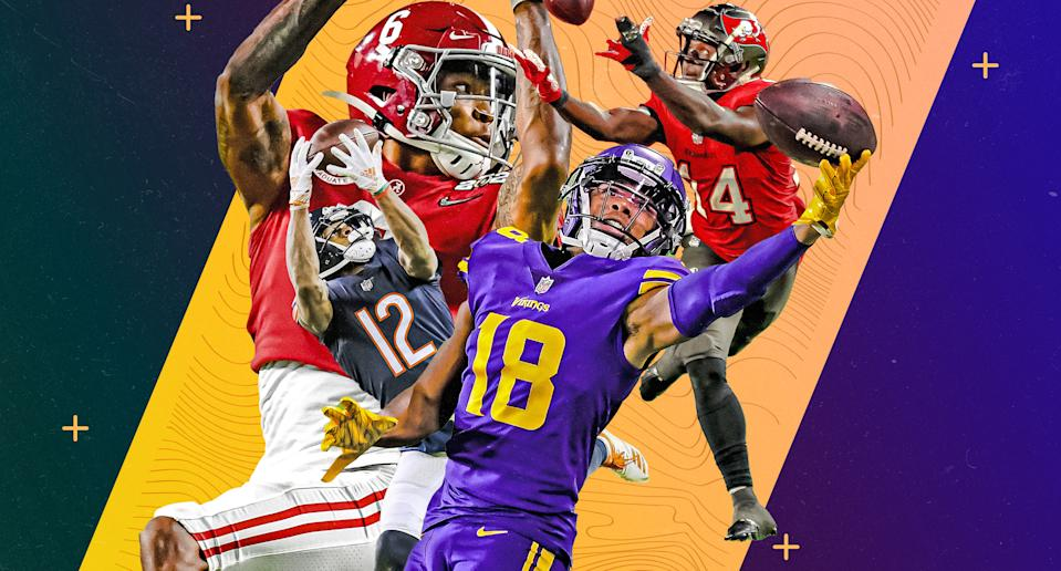 The 2021 Wide Receiver Landscape. (Photo by Albert Corona/Yahoo Sports)