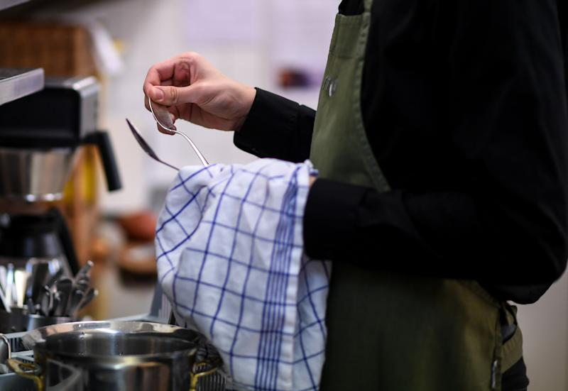 Just 1% catering staff stated they regularly used bad language. (Photo: Patrick Seeger/picture alliance via Getty Images)