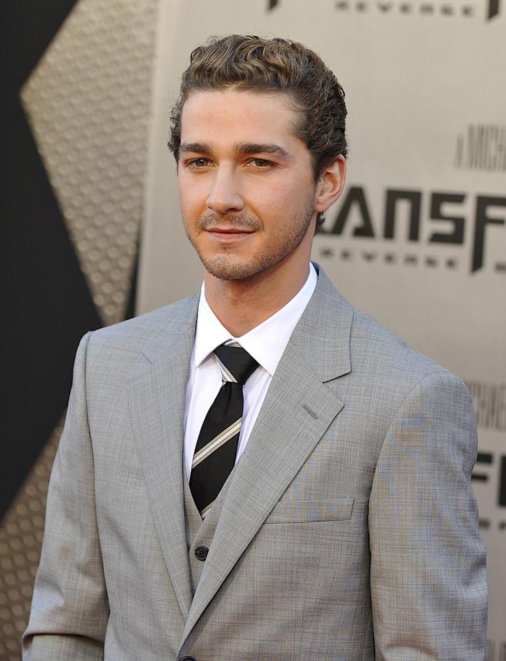 """<a href=""""http://movies.yahoo.com/movie/contributor/1804503925"""">Shia LaBeouf</a> at the Los Angeles premiere of <a href=""""http://movies.yahoo.com/movie/1809943432/info"""">Transformers: Revenge of the Fallen</a> - 06/22/2009"""