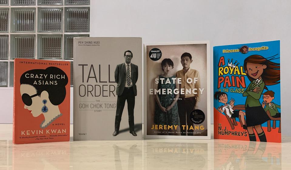 Some Singapore books that made the news in 2018.