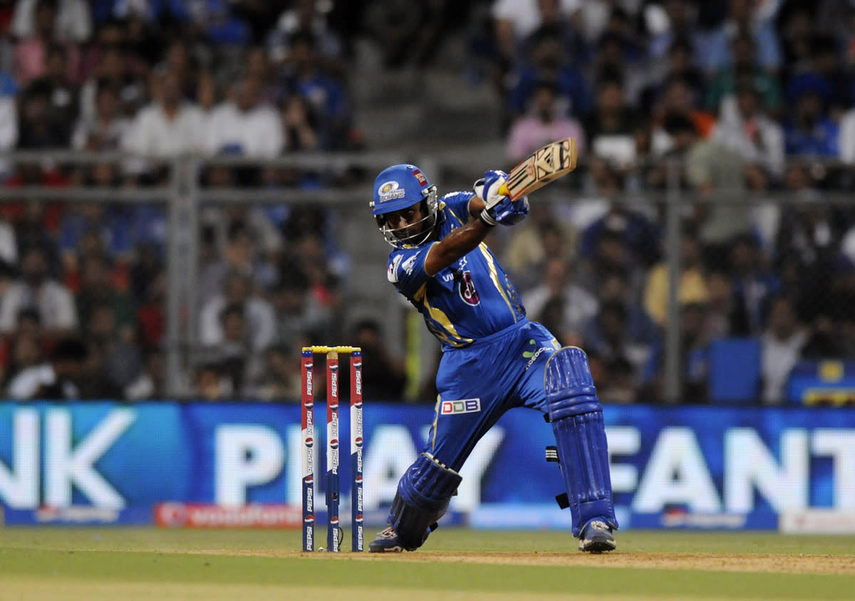 Ambati Rayudu of Mumbai Indians bats during match 66 of the Pepsi Indian Premier League ( IPL) 2013  between The Mumbai Indians and the Rajasthan Royals held at the Wankhede Stadium in Mumbai on the 15th May 2013 ..Photo by Pal Pillai-IPL-SPORTZPICS ..Use of this image is subject to the terms and conditions as outlined by the BCCI. These terms can be found by following this link:..https://ec.yimg.com/ec?url=http%3a%2f%2fwww.sportzpics.co.za%2fimage%2fI0000SoRagM2cIEc&t=1503284698&sig=sa0lkFDY34BIFhTsr4QTJQ--~D