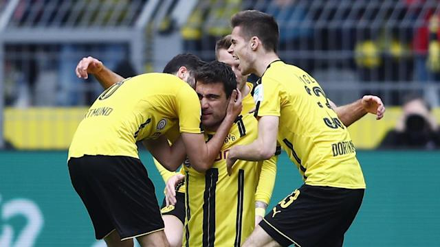 Sokratis Papastathopoulos said his goal in Borussia Dortmund's 3-1 victory over Eintracht Frankfurt was important for him mentally.
