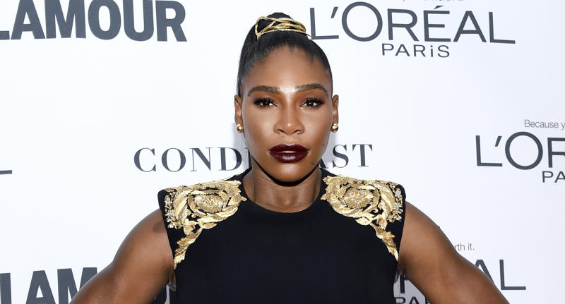 Serena Williams attends the 2017 Glamour Women of the Year Awards in New York. (Photo: Evan Agostini/Invision/AP)