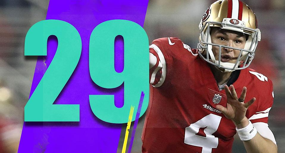 <p>Credit Nick Mullens for giving the 49ers a late lead and almost rallying them for a crazy win at the end. He's turning into an interesting player. (Nick Mullens) </p>