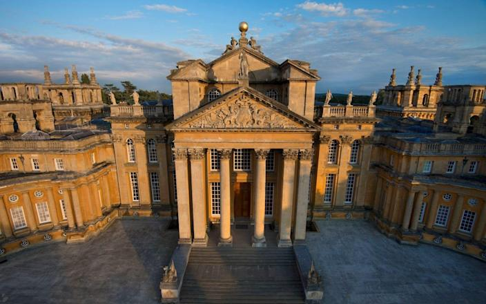 Blenheim Palace was an old haunt of Cecil Beaton